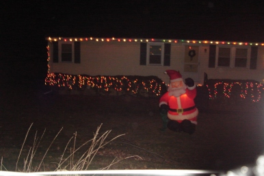 A decent house in a great town, complete with Christmas lights starting in October!