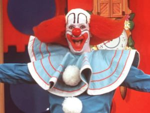 Bozo, the well-known TV clown has known Louie since his beginnings at Joyland